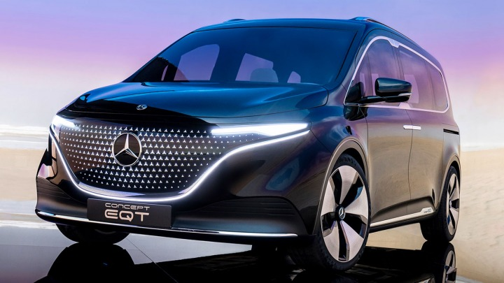 Mercedes-Benz Vans pokazał ConceptEQT