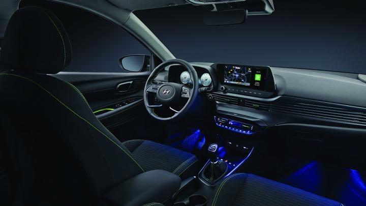Hyundai i20 Nowej Generacji. Nowe zdjęcia wnętrza pojazdu