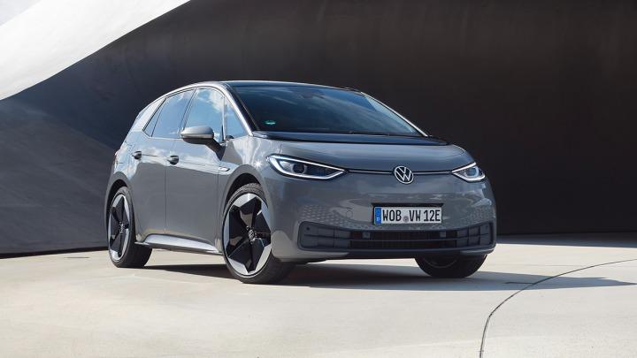 Pięć gwiazdek w teście zderzeniowym dla Volkswagena ID.3