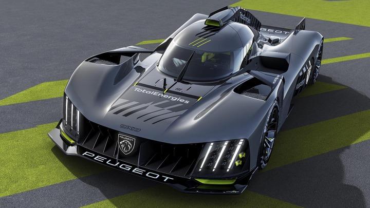 PEUGEOT 9X8 nowy hipersamochód zaprojektowany specjalnie do wyścigów