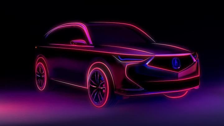 Prototyp Acura MDX nowej generacji zadebiutuje 14 października