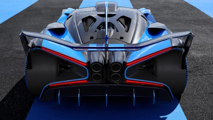 Światowa premiera - ekstremalnie sportowy Bugatti Bolide
