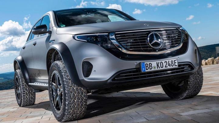 Mercedes-Benz EQC 4x4 ekstremalne auto elektryczne