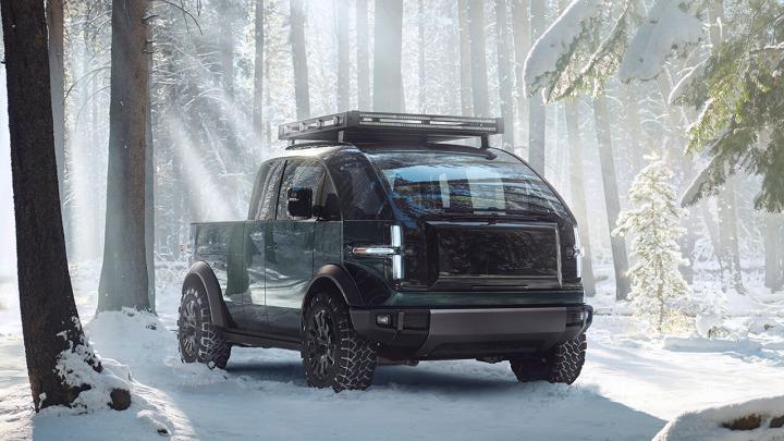 Nowy Pickup Canoo