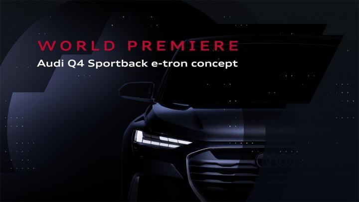 Już jutro światowa premiera Audi Q4 Sportback e-tron concept