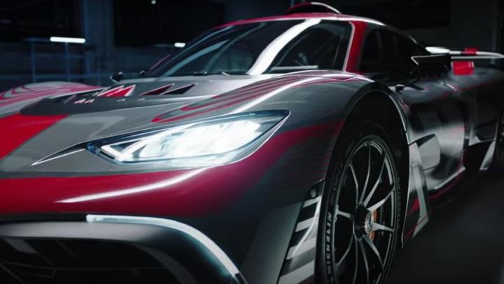 Mercedes-AMG Project ONE moc formuły 1