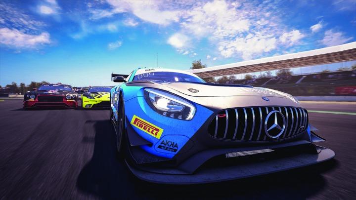 Mercedes-AMG GT3 nadal błyszczy w wirtualu
