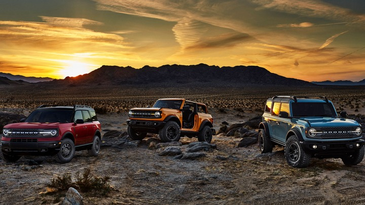 Poznaj nową rodzinę SUV-ów. Premiera Ford Bronco