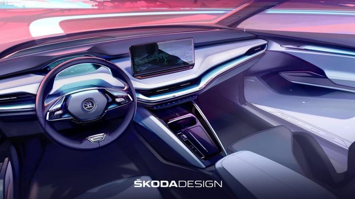 SKODA wyznacza nowe standardy w projektowaniu wnętrz dzięki indywidualnym wyborom stylistycznym ENYAQ iV