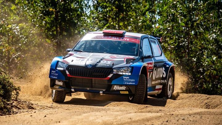 Kajetan Kajetanowicz wygrywa kategorię WRC3 w Rajdzie Portugalii