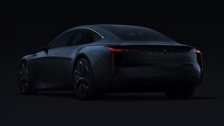 Hopium Machina Alpha 0 pierwszy prototyp luksusowego sedana wodorowego