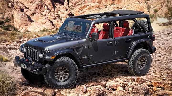 Jeep Wrangler Rubicon 392 Concept z silnikiem 6,4 litra V-8 450 KM