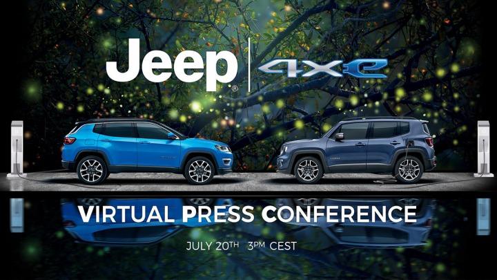 Jeep Renegade oraz Compass 4xe w wersji plug-in hybrid premiera 20 lipca