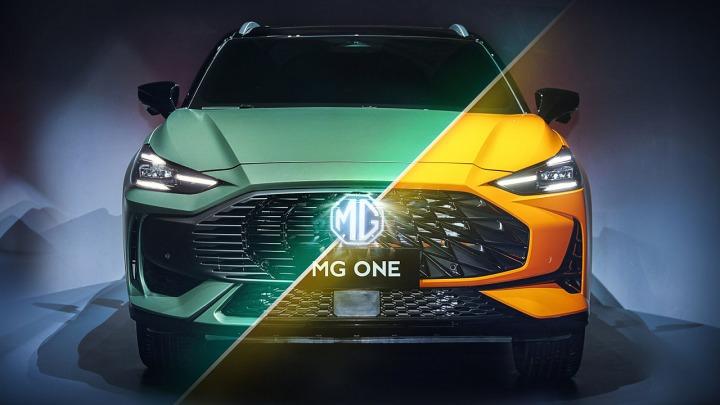 SUV premium od MG model ONE w pełni pokazany