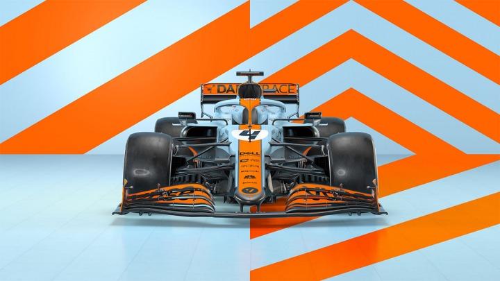 Hołd McLarena dla ponadczasowego projektu Gulf