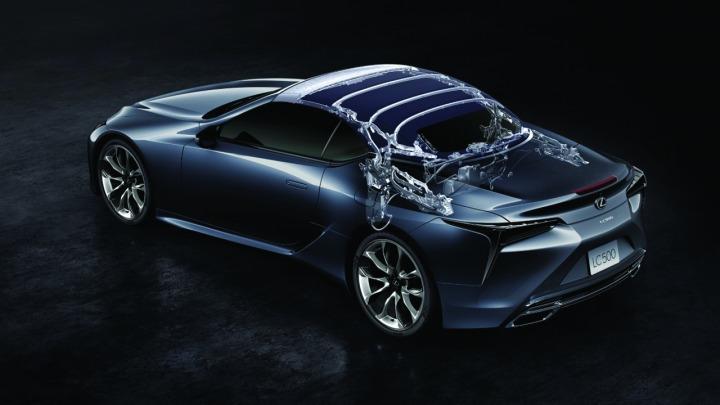 Lexus LC Convertible jak stworzyć perfekcyjny miękki dach?