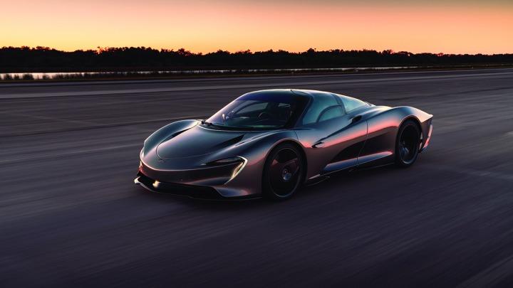 McLaren Speedtail z Hybrydowym Hyper-GT