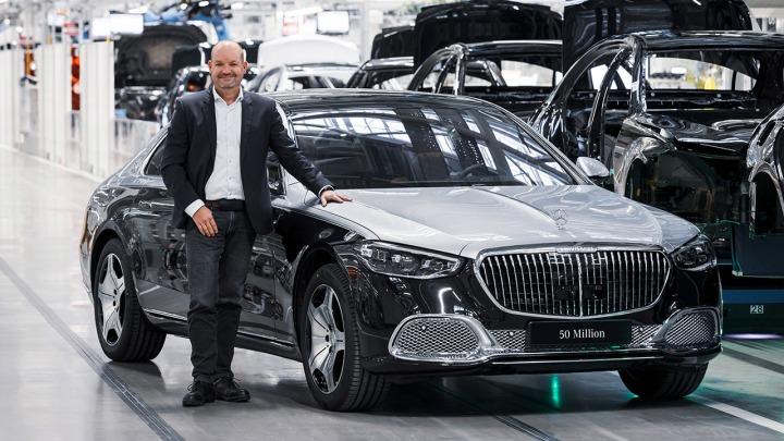 Mercedes-Benz wyprodukował 50-milionowy samochód