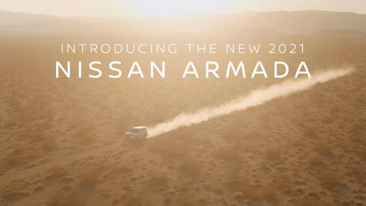 Już wkrótce premiera nowego Nissana Armada 2021