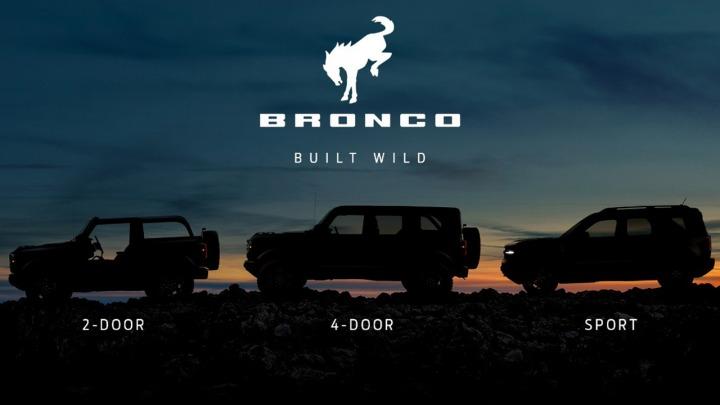 Wkrótce poznamy nowego Forda Bronco w trzech wersjach nadwozia
