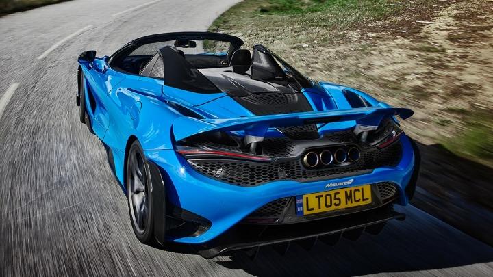 McLaren 765LT Spider poznaj najpotężniejszy supersamochód McLarena w historii