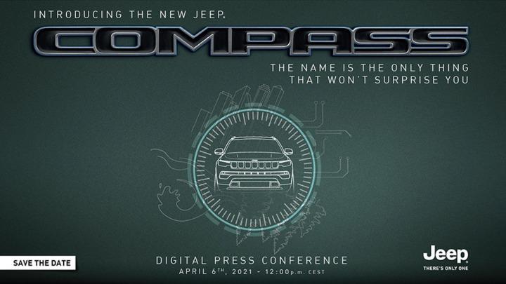 Jeep zapowiedział premierę nowego Compassa