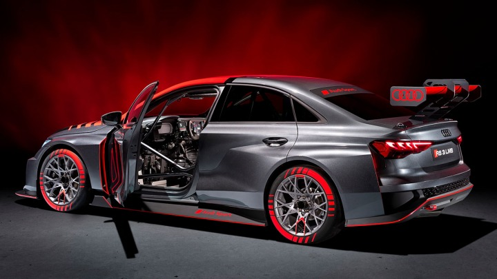 Rozpoczęcie sprzedaży nowego Audi RS 3 LMS