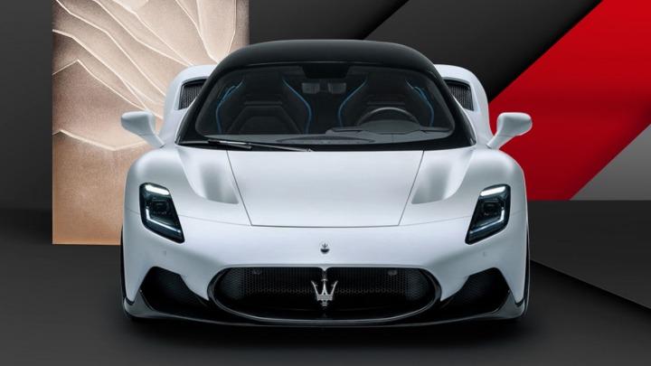 Maserati MC20 z tytułem China Performance Car Of The Year 2021