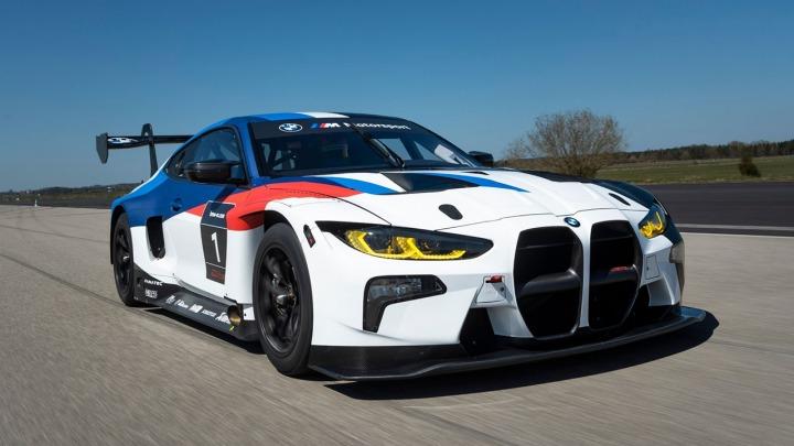 BMW M Motorsport prezentuje BMW M4 GT3 na torze Nürburgring