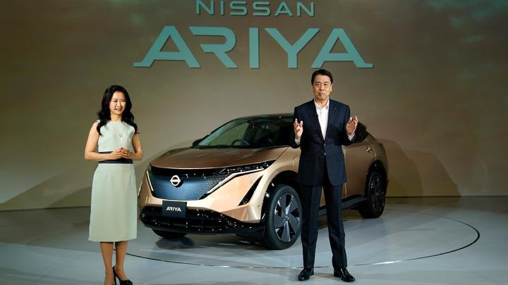 W pełni elektryczny nowy crossover Nissan Ariya. Światowa premiera online