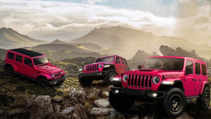 Jeep wprowadza specjalny kolor lakieru Tuscadero dostępny przez ograniczony czas