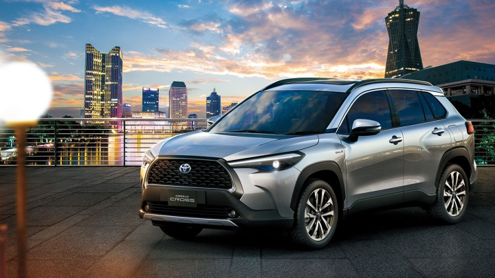 Oto nowy kompaktowy SUV Toyota Corolla Cross