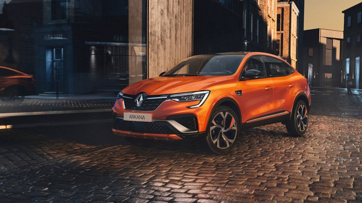 Renault Arkana nowy hybrydowy SUV Coupe