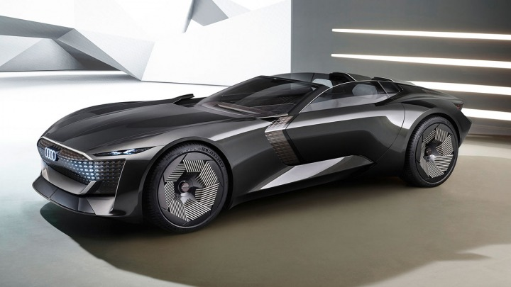 Audi skysphere concept światowa premiera online