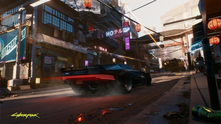 Pojazdy w świecie Cyberpunka 2077