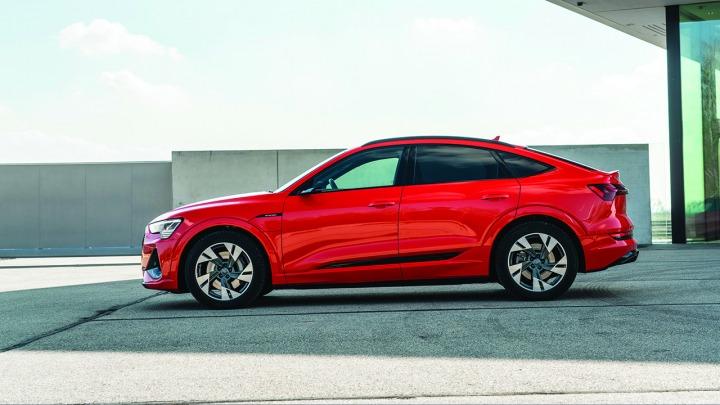 Audi e-tron Sportback: Dynamiczny SUV coupé
