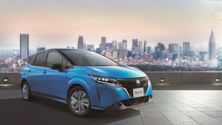 Nowy elektryczny Nissan Note