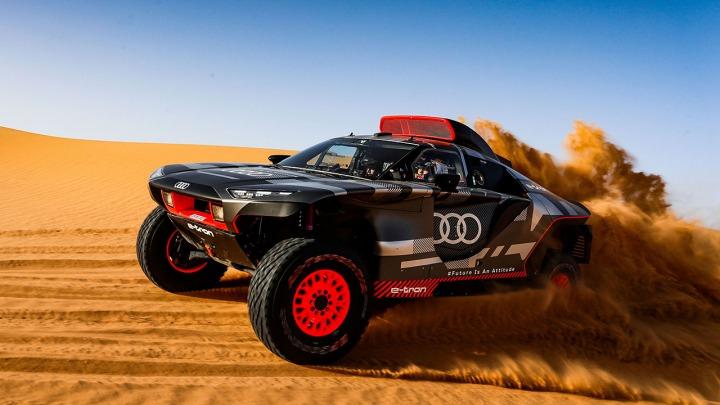 Testy Audi RS Q e-tron w Maroku przed debiutem w Rajdzie Dakar
