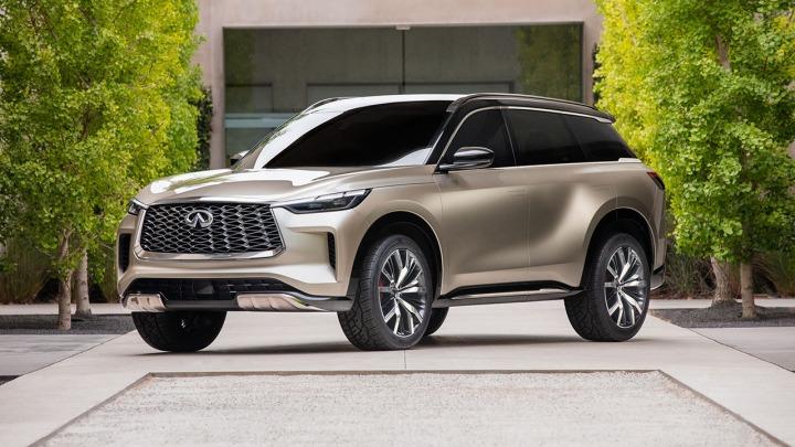 Infiniti przedstawia model QX60 Monograph projekt 3-rzędowego SUV-a nowej generacji