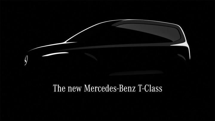 Nowy kompaktowy miejski van Mercedes-Benz Klasa T