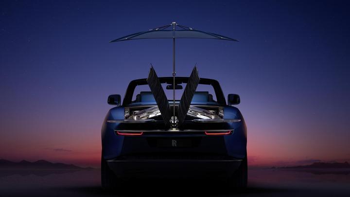 Jedyny tak ekskluzywny Rolls-Royce Boat Tail