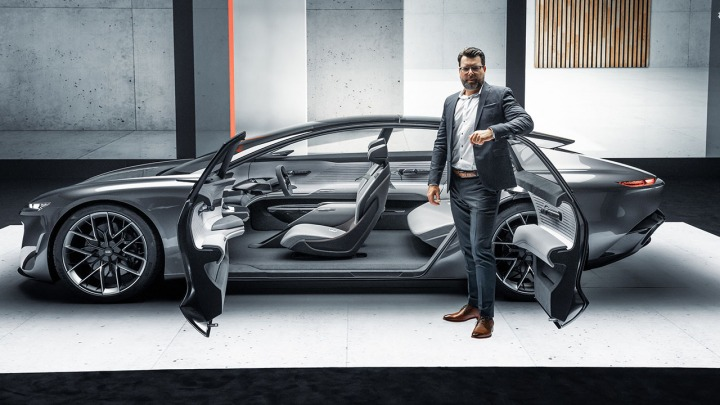 Premiera Audi grandsphere concept