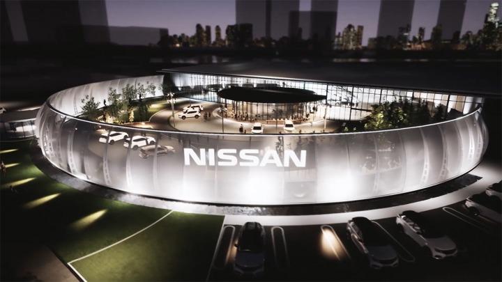 Premiera nowego Nissana Ariya odbędzie się w nowo wybudowanym centrum wystawniczym Nissana w Jokohamie