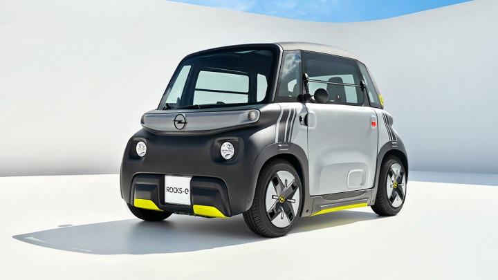 Opel Rocks-e wypełnia lukę między skuterem a samochodem osobowym