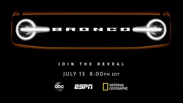 Wszystko jasne Ford Bronco premiera 13 lipca