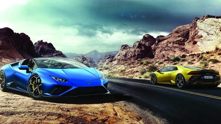 Lamborghini Huracán EVO Spyder i napęd na tylne koła
