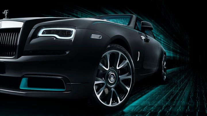 Wraith Kryptos ekskluzywny samochód z limitowanych serii Rolls-Royce Collection