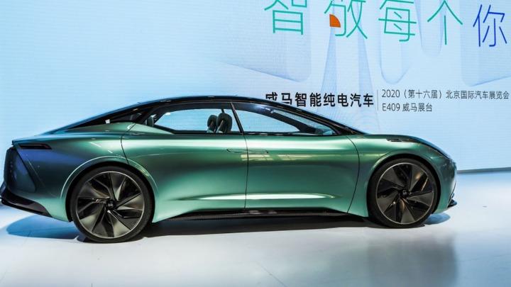 Beijing Auto Show, samochód koncepcyjny Weltmeister Maven Concept pojawił się po raz pierwszy offline