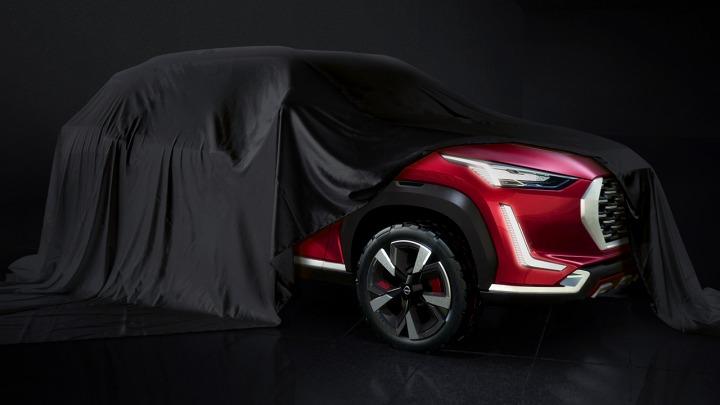Nissan India pokazał pierwsze zdjęcie nowego B-SUV-a