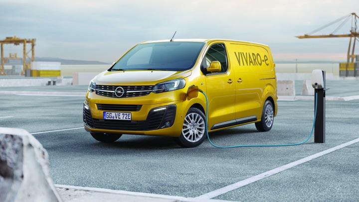 Bezemisyjny nowy Opel Vivaro-e